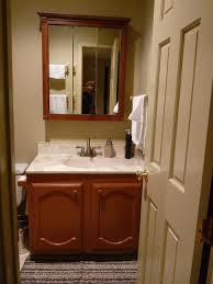 bathrooms cabinets wooden medicine cabinets with mirror edison