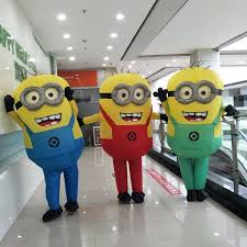 Minion Costumes Halloween Aliexpress Buy 2017 Halloween Cosplay Party Costume