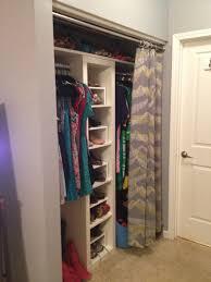 Closet Door Coverings Closet Door Drapery