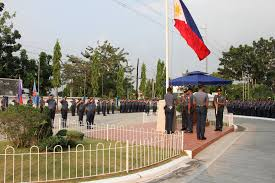 Ceremony Flag The Ncrpo Flag Lowering Ceremony Held Infront Of Ncrpo Admin