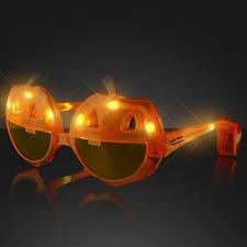 light up pumpkins for halloween custom imprinted light up pumpkin sunglasses halloween promotions