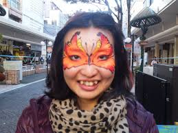 Mature Compilation - face painting by lucie brouillard at daidogei street performance