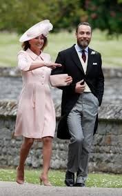 carole middleton wears catherine walker u0026 co to pippa middleton u0027s