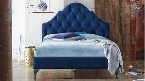 Blue Bed Frame Bordeaux Bed Frame Domayne