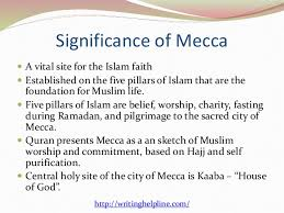 the importance of mecca makkah to