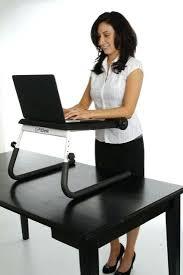 Standing Desk On Top Of Existing Desk Desk Convert Sitting To Standing Desk Fitdesk Tabletop Standing