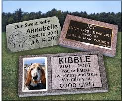 dog grave markers granite gravestones and bronze markers