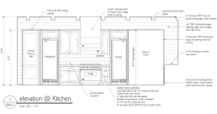 plain kitchen design drawings sketch top process home furniture
