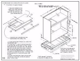 easy home bar plans designs