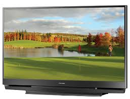 l for mitsubishi 73 inch tv amazon com mitsubishi wd 73734 73 inch 1080p dlp hdtv electronics