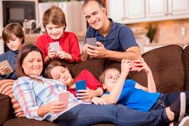 mobile phones are destroying family but it s the parents