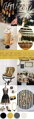 black and gold wedding ideas black gold wedding ideas the palette