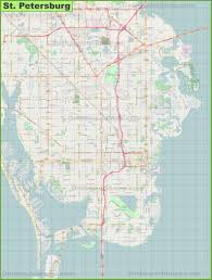 Map Of St Petersburg Florida by St Petersburg Maps Florida U S Maps Of St Petersburg