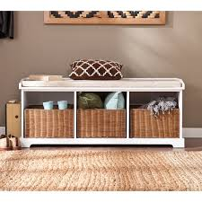 entry way storage bench harper blvd lima white entryway storage bench free shipping