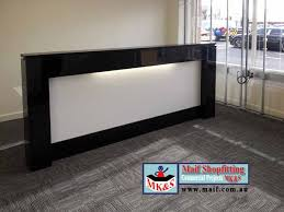 Counter Reception Desk Reception Desk Newcastle Real Estate Reception Desk Black White
