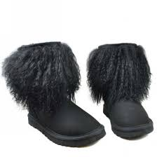 ugg boots for sale in nz ugg black sheepskin cuff 1875 knit boots 0 jpg