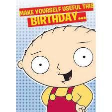 Family Guy Birthday Meme - card invitation design ideas family guy stewie birthday greeting