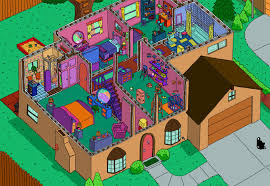 Floor Plans Of Tv Homes by Pretty Design Ideas Blueprint Of The Simpsons House 12 Floor Plans