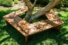 diy tree bench how to hallmark channel