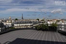 Appartement Toit Terrasse Paris Rooftop Mires Paris