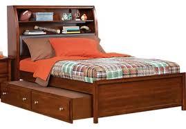 Santa Cruz Bedroom Furniture by Dark Cherry Trundle Beds
