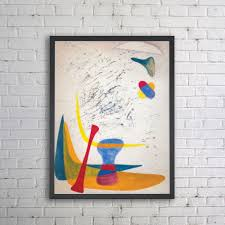 online shop nodic colouful abstract painting visual illusion art