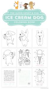 printable coloring book for kids free printable dog and