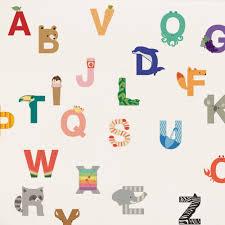 alphabet wall sticker peel and stick repositionable fabric stickers alphabet peel and stick wall sticker