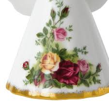 country royal albert ornament silver