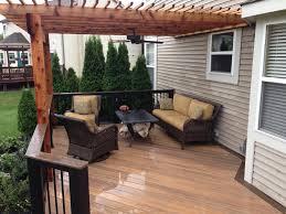 Decking Pergola Ideas by Standalone Small Backyard Decks Patio Google Search Home Ideas