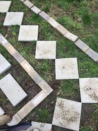 Easy Paver Patio Build A Paver Patio For A Backyard Upgrade The Home Depot