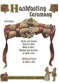 celtic wedding knot ceremony how to tie a handfasting cord this is where the term tie the