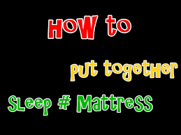 sleep number bed mattress assembly how to video youtube