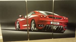 ferrari art alright petrolheads what kind of car art do you have hanging in