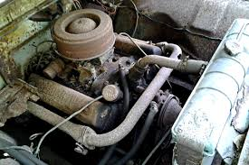 Old Ford Truck Engines - all natural 1959 ford f100