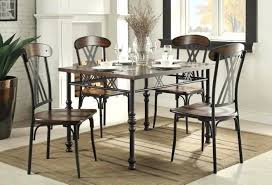 Metal Outdoor Dining Chairs Wood And Metal Dining Table Sets Silver Metal Dining Table And