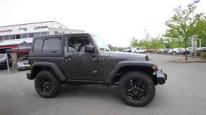 2014 jeep wrangler willys for sale 2014 jeep wrangler willys wheeler edition granite el284087
