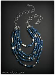 make necklace with stone images Learn how to make a multi strand semi precious stone chip bead jpg