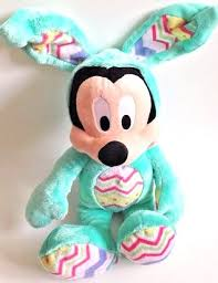 Mickey Mouse Easter Eggs Disney Store Mickey Mouse Bunny Rabbit Plush Exclusive Easter Egg