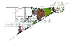 L Shaped Garden Design Ideas Design Tips Awkwardly Shaped Gardens Outside Roomsoutside Rooms