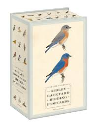 house sibley backyard birding postcards 100 postcards