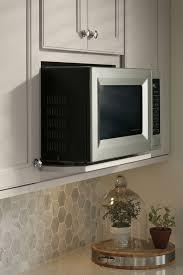 Microwave Kitchen Cabinet Wall Microwave Open Shelf Cabinet Aristokraft