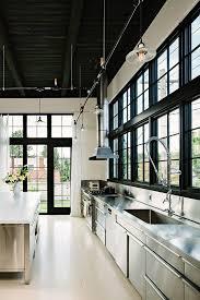 Loft Kitchen Ideas Top 25 Best Stainless Steel Kitchen Ideas On Pinterest