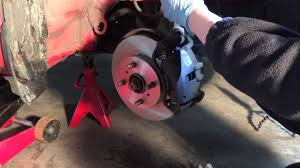 changing brake pads and disks on a toyota yaris youtube