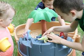 Water Table For Kids Step 2 Step2 Dino Dig Sand U0026 Water Table Review Giveaway Diy Sensory Bin