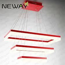 rectangular wholesale led chandelier hanging light dining table l