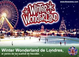 winter de londres el centro de los sueños de navidad