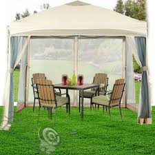 Metal Pergolas With Canopy by Outdoor Gazebo Metal Pergola Canopy Tent Mosquito Net Patio