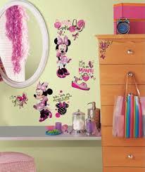 Stick Wall Roommates Mickey U0026 Friends Minnie Fashionista Peel And Stick