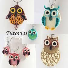 quilling designs tutorial pdf owl earrings diy tutorial for paper quilled jewelry pdf owl earrings